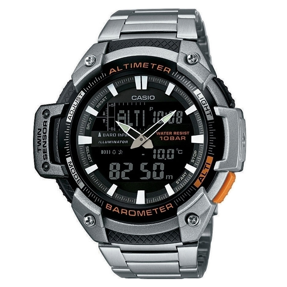 CASIO Collection Stainless Steel Bracelet SGW-450HD-1BER