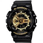CASIO G-SHOCK Black Rubber Strap GA-110GB-1AER
