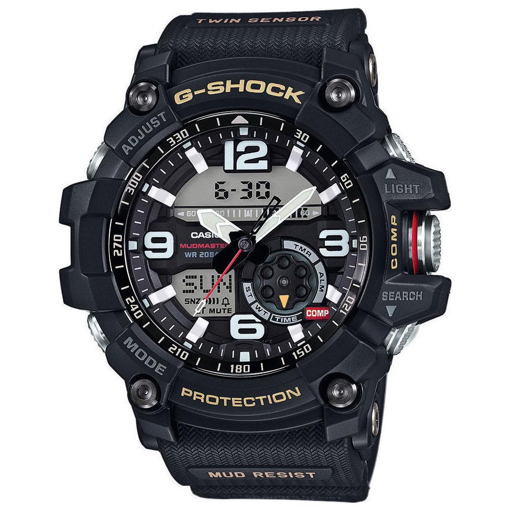 ec27640363 CASIO G-SHOCK Mudmaster Black Rubber Strap GG-1000-1AER