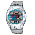 CASIO Collection Data Bank Stainless Steel EDB-110D-2V