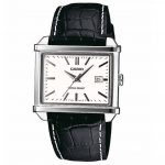 CASIO Collection Black Leather MTP-1341L-7A