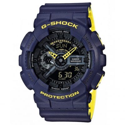 CASIO G-SHOCK Blue Rubber Strap GA-110LN-2AER