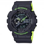 CASIO G-Shock Black Rubber Strap GA-110LN-8AER