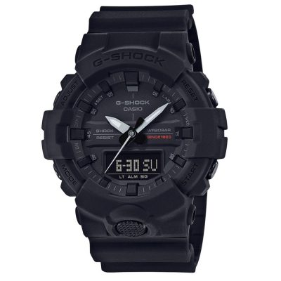CASIO G-Shock 35th Anniversary Black Rubber Strap GA-835A-1AER
