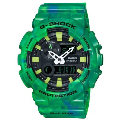 CASIO G-Shock Green Rubber Strap GAX-100MB-3AER