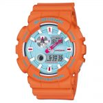 CASIO G-SHOCK Orange Rubber Strap GAX-100X-4AER