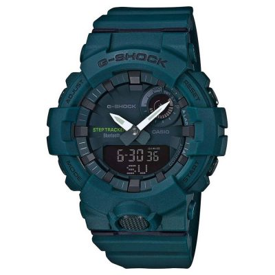 CASIO G-SHOCK Bluetooth Petrol Rubber GBA-800-3AER