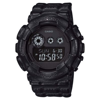 CASIO G-SHOCK Black Rubber Strap GD-120BT-1ER