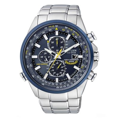 CITIZEN Blue Angels Eco-Drive Radio Controlled Chronograph AT8020-54L