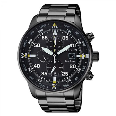 CITIZEN Aviator Eco-Drive Chronograph CA0695-84E