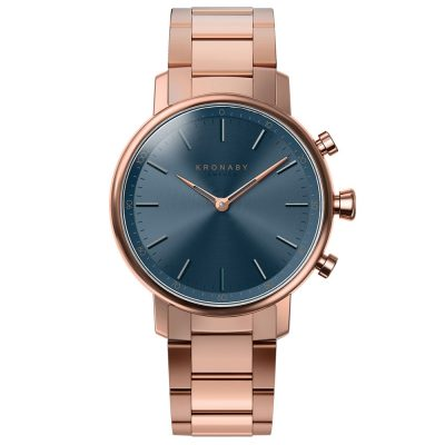 KRONABY Smart-Watch Carat Rose Gold Stainless Steel Bracelet A1000-2445