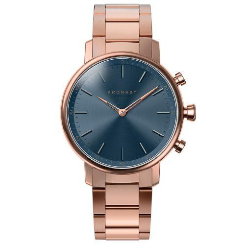 KRONABY Smart-Watch Carat Rose Gold Stainless Steel Bracelet A1000-2445