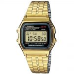 CASIO Collection Gold Stainless Steel Bracelet A-159WGEA-1EF