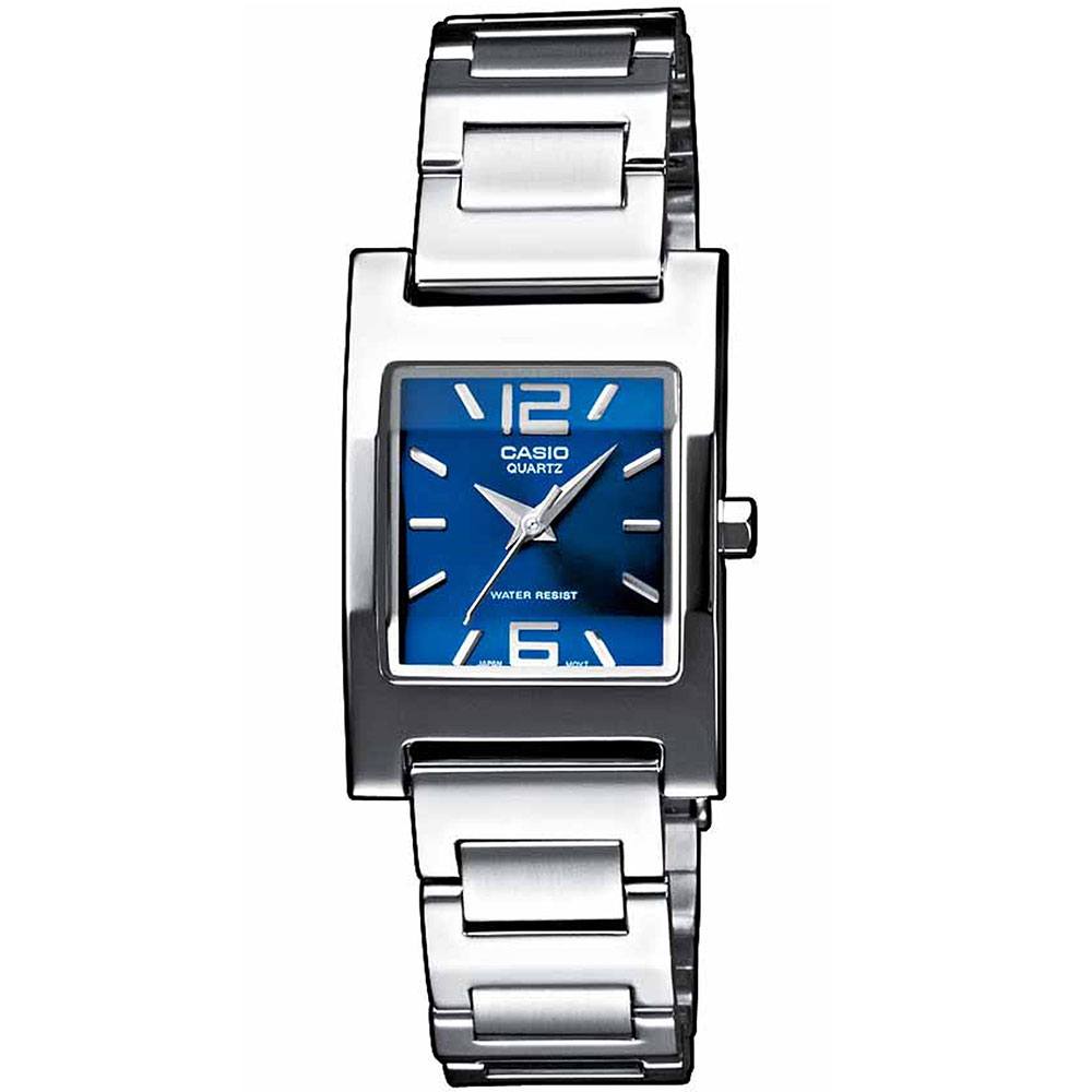 CASIO Collection Stainless Steel Bracelet LTP-1283PD-2A2EF