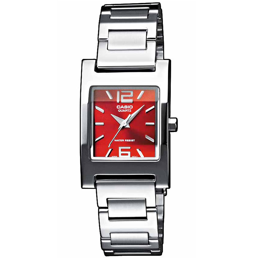 CASIO Collection Stainless Steel Bracelet LTP-1283PD-4A2EF