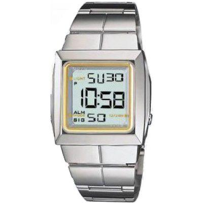 CASIO Collection Digital Stainless Steel Bracelet SHN-400D-9V