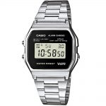 CASIO Collection Stainless Steel Bracelet A-158WEA-1EF