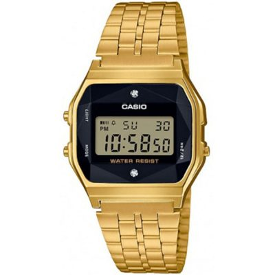 CASIO Collection Gold Stainless Steel A-159WGED-1EF