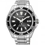 CITIZEN Eco-Drive Promaster Diver's Stainless Steel Bracelet BN0190-82E