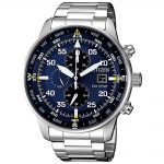 CITIZEN Eco-Drive Chronograph Stainless Steel Bracelet CA0690-88L