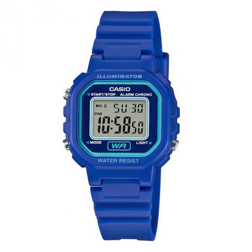 CASIO Sport Blue Rubber Stap LA-20WH-2AEF  94538613c26