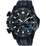 CASIO Edifice Chronograph Black Rubber Strap EFR-558BP-1AVUEF