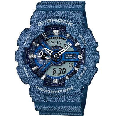 CASIO G-SHOCK Blue Rubber Strap GA-110DC-2AER