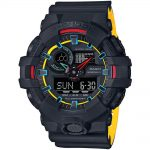 CASIO G-SHOCK Black Rubber Strap GA-700SE-1A9ER
