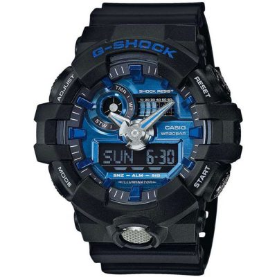 CASIO G-SHOCK Black Rubber Strap GA-710-1A2ER