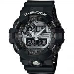 CASIO G-SHOCK Black Rubber Strap GA-710-1AER