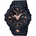 CASIO G-SHOCK Black Rubber Strap GA-710B-1A4ER