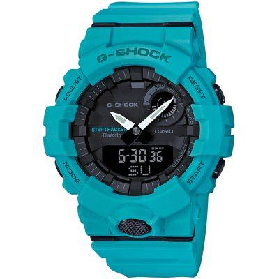 CASIO G-SHOCK Bluetooth Blue Rubber Strap GBA-800-2A2ER