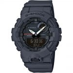 CASIO G-SHOCK Bluetooth Grey Rubber Strap GBA-800-8AER