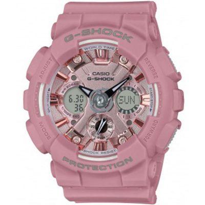 CASIO G-SHOCK Pink Rubber Strap GMA-S120DP-4AER