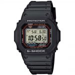 CASIO G-SHOCK Solar Radio Controlled Black Rubber Strap CASIO GW-M5610-1ER