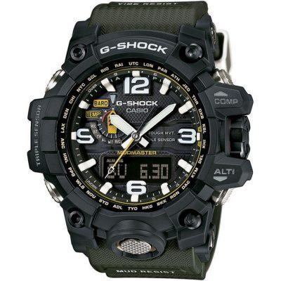CASIO G-SHOCK Khaki Rubber Strap GWG-1000-1A3ER