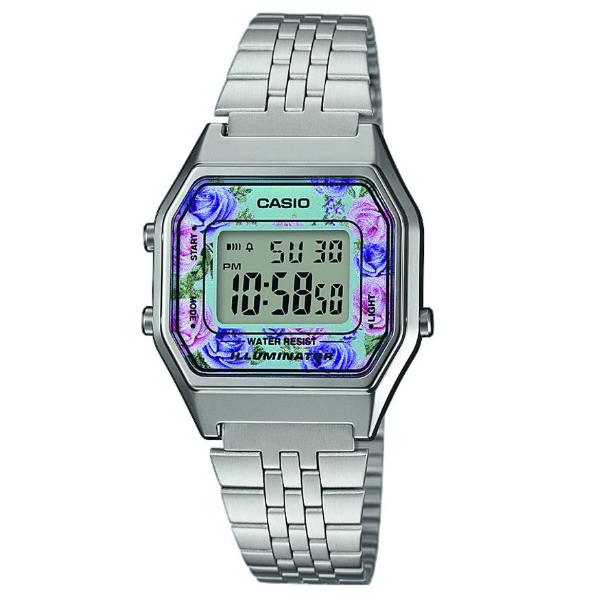 CASIO Collection Stainless Steel Bracelet LA-680WEA-2CEF
