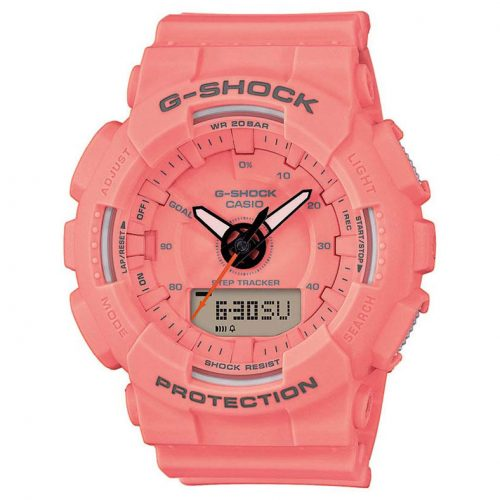 CASIO G-Shock Pink Rubber Strap GMA-S130VC-4AER
