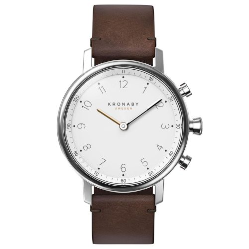 KRONABY Smart-Watch Nord Brown Leather Strap A1000-0711