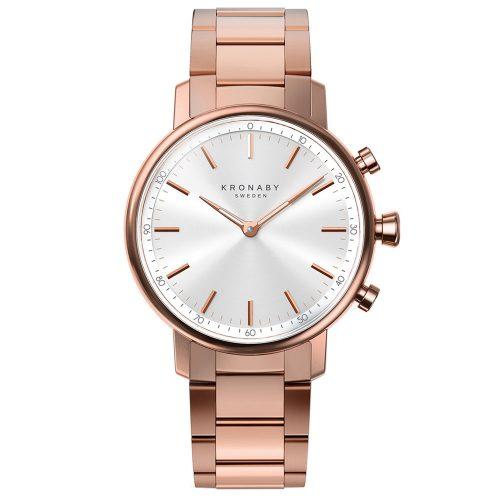 KRONABY Smart-Watch Carat Gold Stainless Steel Bracelet A1000-2446