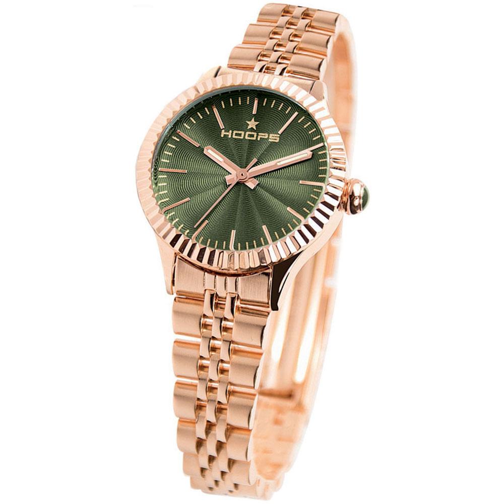 HOOPS Luxury Gold Rose Metallic Bracelet 2560LG04