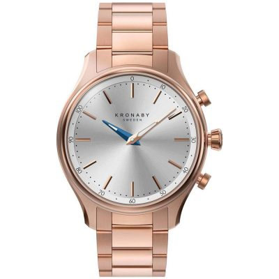 KRONABY Smart-Watch Rose Gold Stainless Steel Bracelet A1000-2747