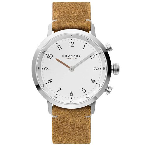 KRONABY Smart-Watch Nord Brown Leather Strap A1000-3128
