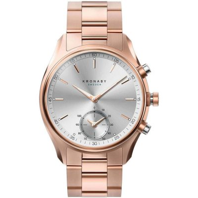 KRONABY Smart-Watch Sekel Rose Gold Stainless Steel Bracelet A1000-2745
