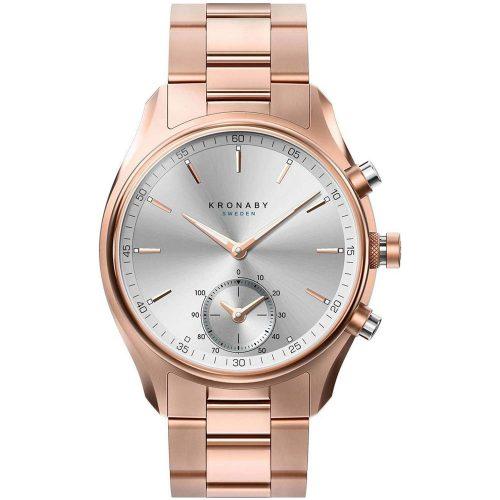 KRONABY Smart-Watch Sekel Rose Gold Stainless Steel Bracelet A1000-2745