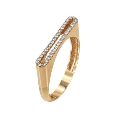 Ροζ Χρυσό Μοντέρνο Δαχτυλίδι Κ14 DX90501