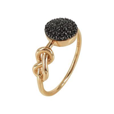 Ροζ Χρυσό Μοντέρνο Δαχτυλίδι Κ14 DX93012