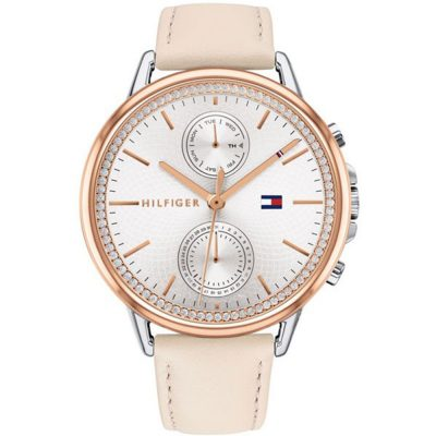 TOMMY HILFIGER Carly Rose Leather Strap 1781913