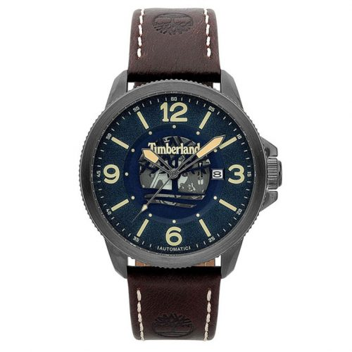 TIMBERLAND Biddeford Automatic Brown Leather Strap 15421JSU-03