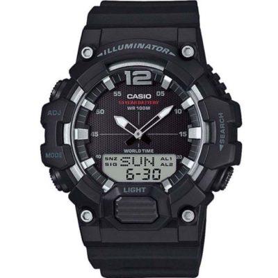 CASIO Black Rubber Strap HDC-700-1AVEF